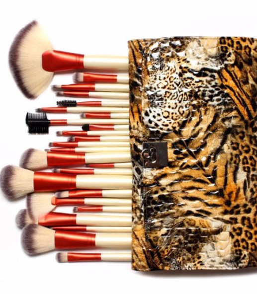Fierce Tiger 24 Piece Brush Set , Make Up Brush - My Make-Up Brush Set, My Make-Up Brush Set  - 1