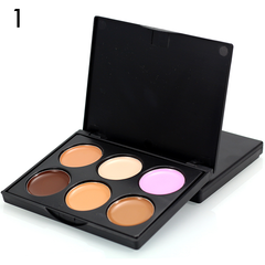 6 Color Makeup Concealer Cream Contour Palette ,  - My Make-Up Brush Set - US, My Make-Up Brush Set  - 2