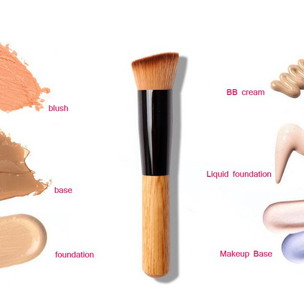 Premium Wood Multi-Function Brush ,  - My Make-Up Brush Set, My Make-Up Brush Set  - 1