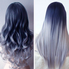 Ombre Hair Extension in Stone Color