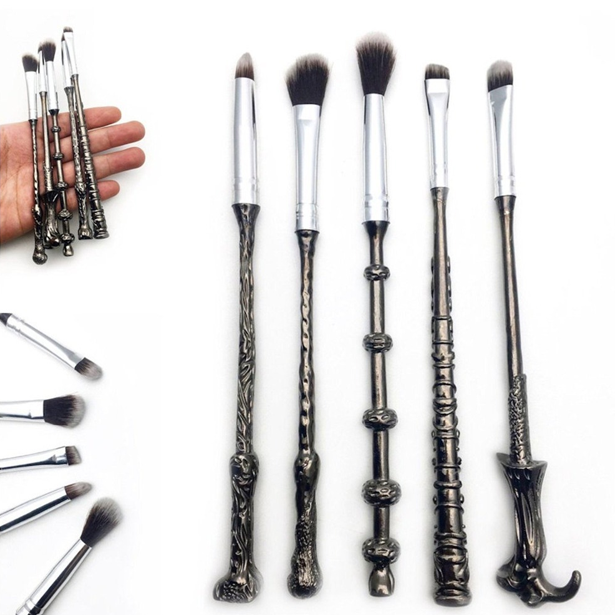 Metal Wands Magic Brush Set