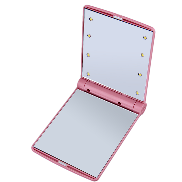 8-LED Light Pocket Mirror