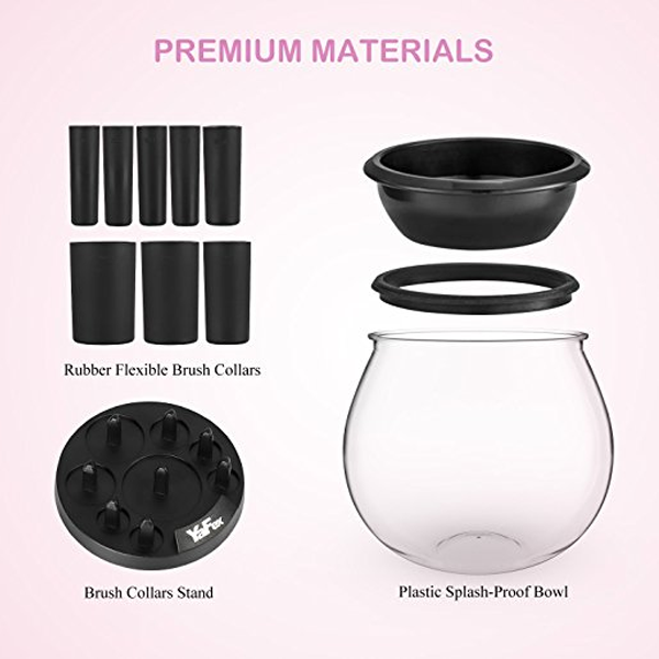 Makeup Brush Cleaner & Dryer Bowl