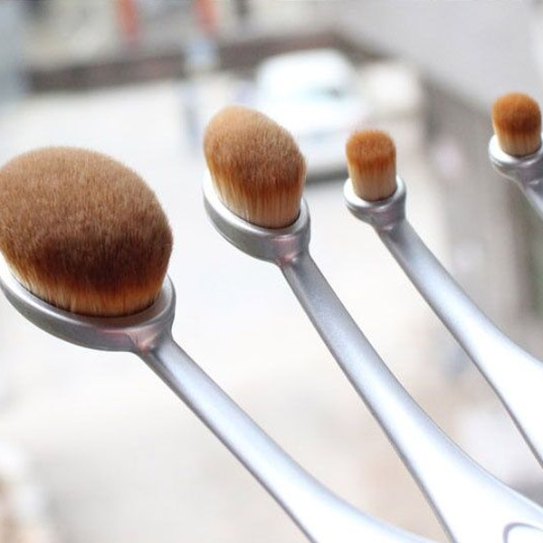 Aphrodite 10 Piece Oval Brush Set ,  - My Make-Up Brush Set, My Make-Up Brush Set  - 3