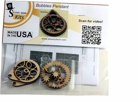 Bubbles Planetary Gear Pendant Kit