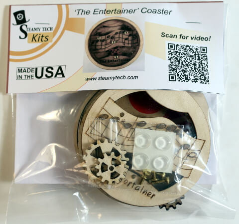 """The Entertainer"" Coaster Kit"