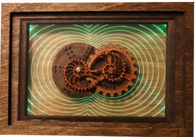 Nautilus Motorized Decorative Wall Box