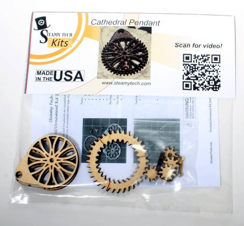 Cathedral Planetary Gear Pendant Kit
