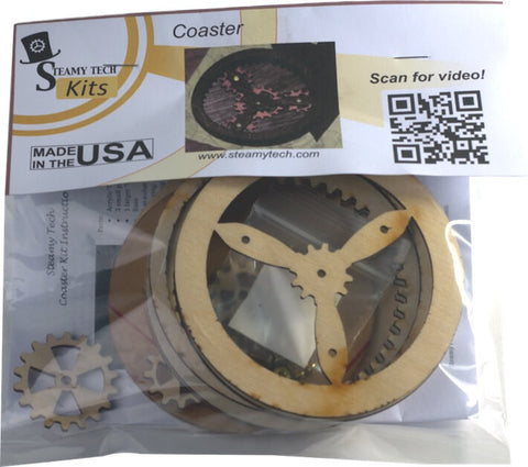 Planetary Gear Coaster Kit