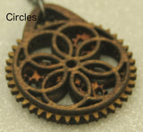 Circles Ornament with Moving Gears