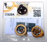 Squiggles Planetary Gear Pendant Kit