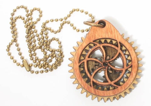 Target Planetary Gear Pendant