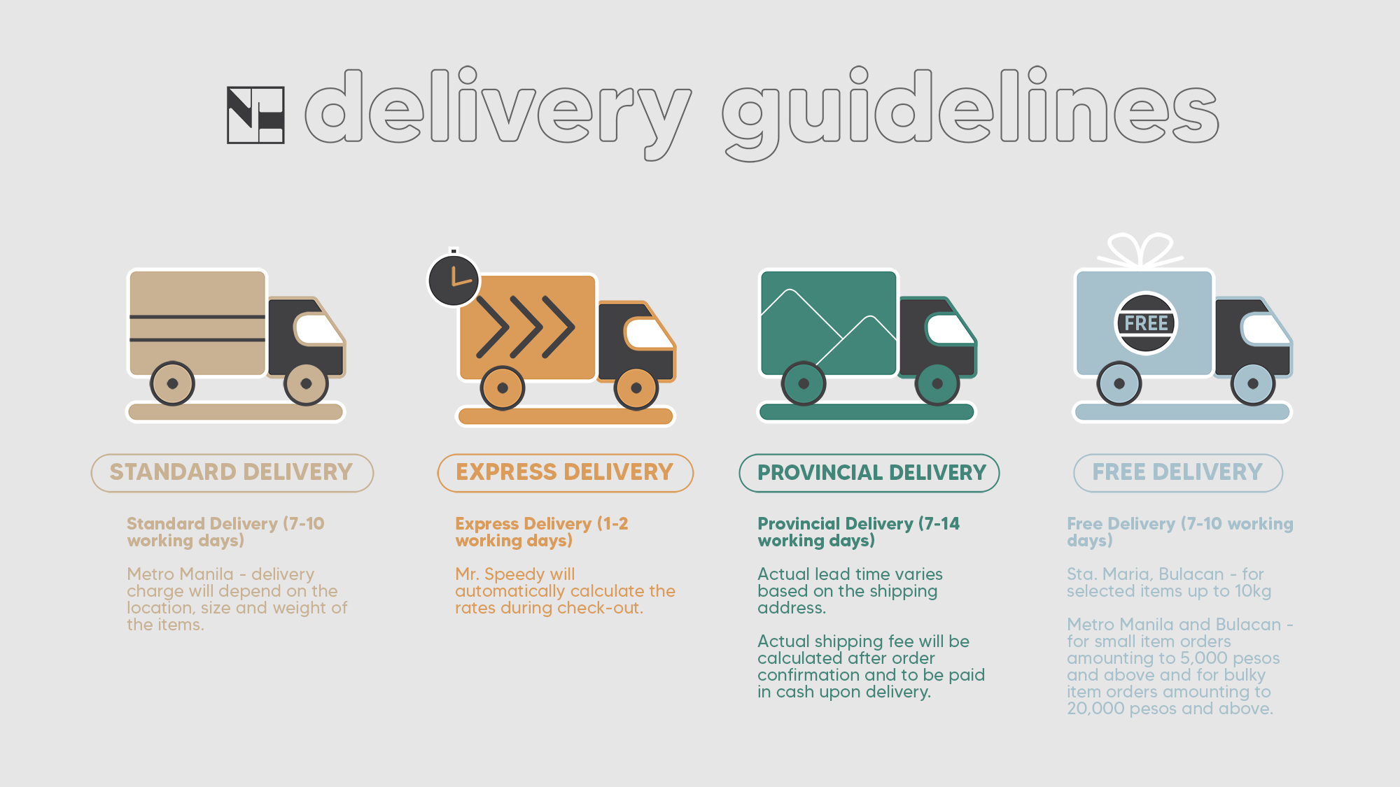 North Hjem Delivery Guidelines
