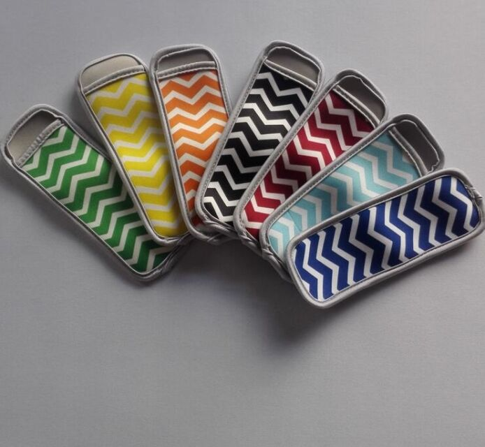 Popsicle Sleeves - Chevron