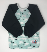 Load image into Gallery viewer, Long Sleeved Anti-Mess Bibs