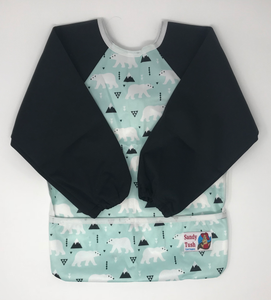 Long Sleeved Anti-Mess Bibs