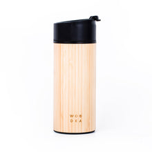 Load image into Gallery viewer, Wooden Tumbler Black