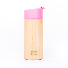 Load image into Gallery viewer, Wooden Tumbler Pink