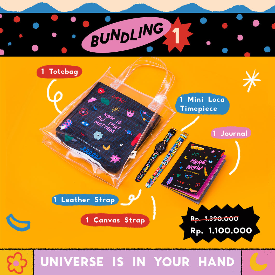 Liunic on Woodka - Universe is in Your Hands Bundling