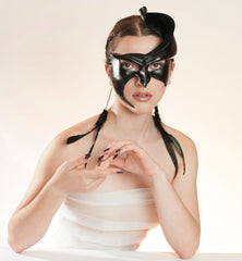 The uncomprising, romantic and provocative leather masks of Wendy Drolma