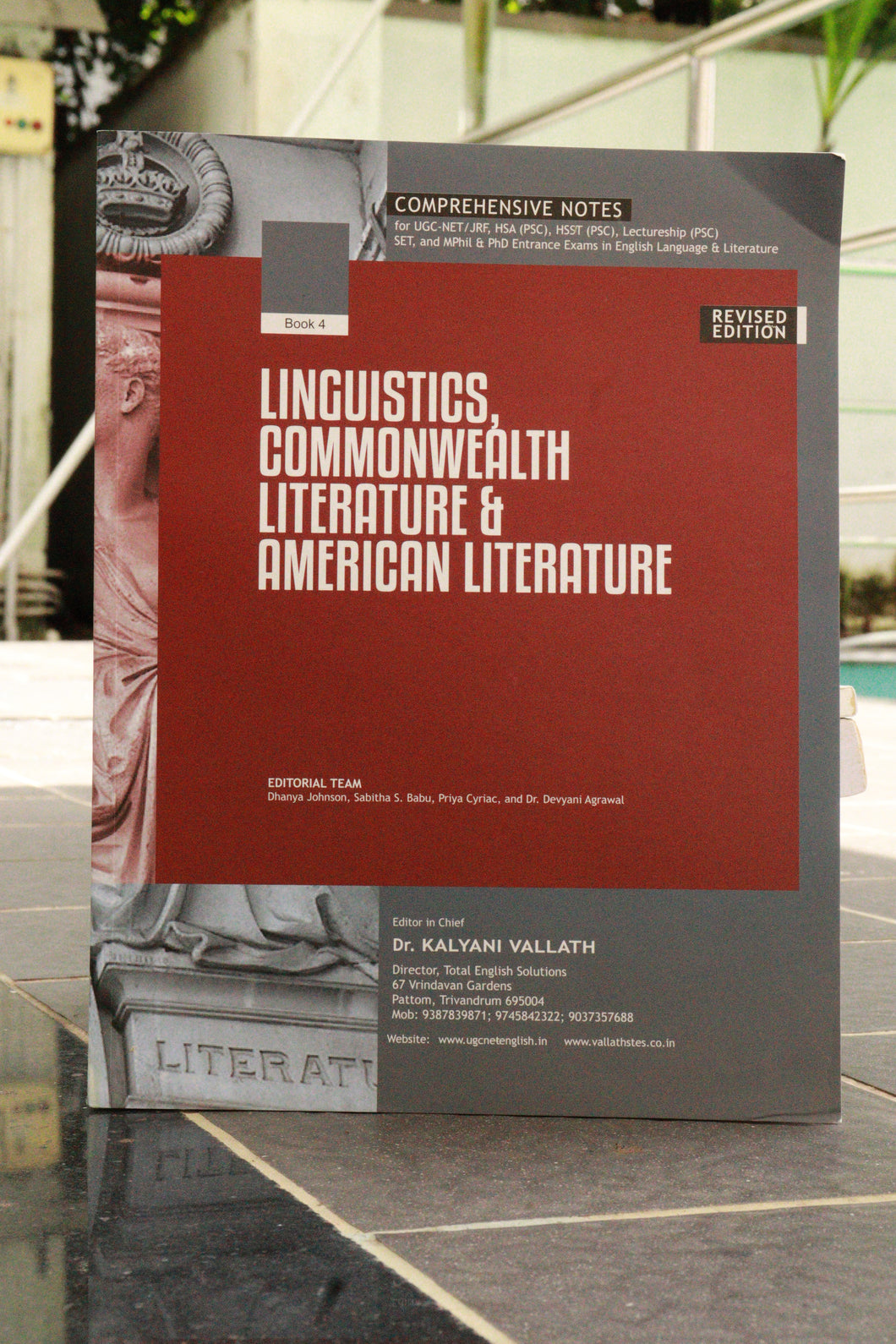 Book 4 - A Companion to Linguistics, Commonwealth Literature and American Literature