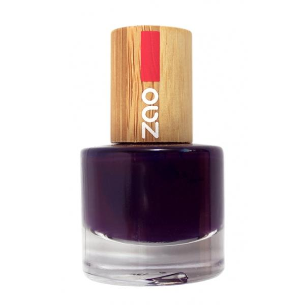 Vernis à ongles Bio - 651 Prune- 8 ml - Zao Make-up - Boutique Pleine-Forme