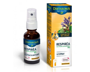 Respiréa Spray- 30 ml - Dietaroma - [shop_name1. Phytospagyrie N°15  Stimulant physique et mental -300ml-Vecteur energy]