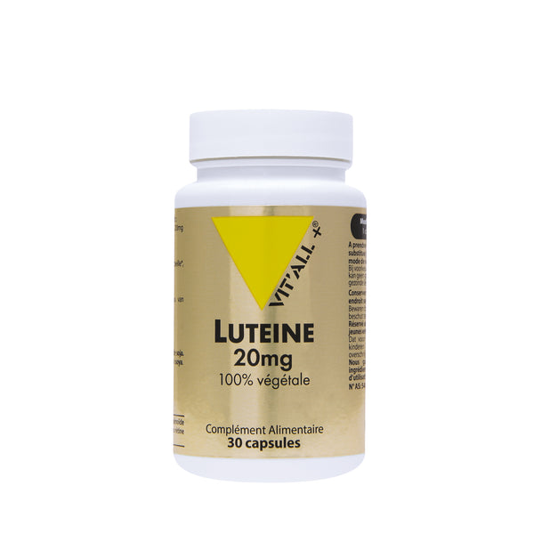 Luteine 20 mg- 30 capsules-Vit'all+
