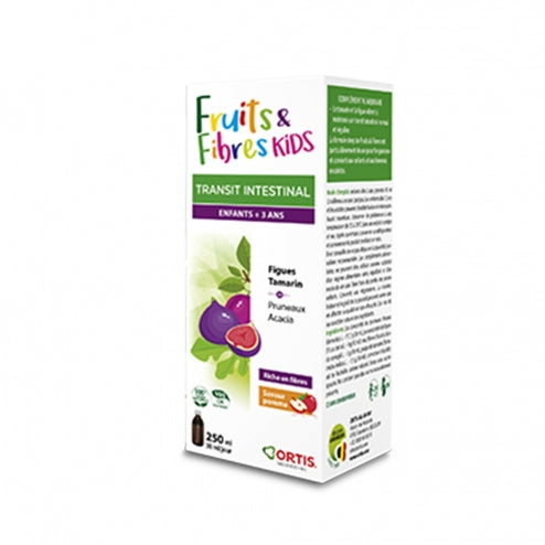 Fruits & Fibres Kids Sirop - 250 ml-Ortis - [shop_name1. Phytospagyrie N°15  Stimulant physique et mental -300ml-Vecteur energy]