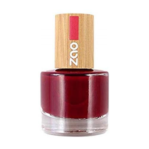 Vernis à Ongles 668 rouge passion-8ml - Zao make up - Boutique Pleine-Forme