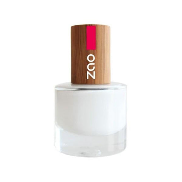 Vernis à Ongles French Manucure 641 blanc-8ml- Zao Make Up - Boutique Pleine-Forme