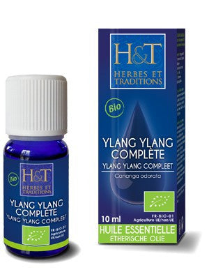 Ylang-ylang complète bio-10ml-Herbes et traditions - [shop_name1. Phytospagyrie N°15  Stimulant physique et mental -300ml-Vecteur energy]