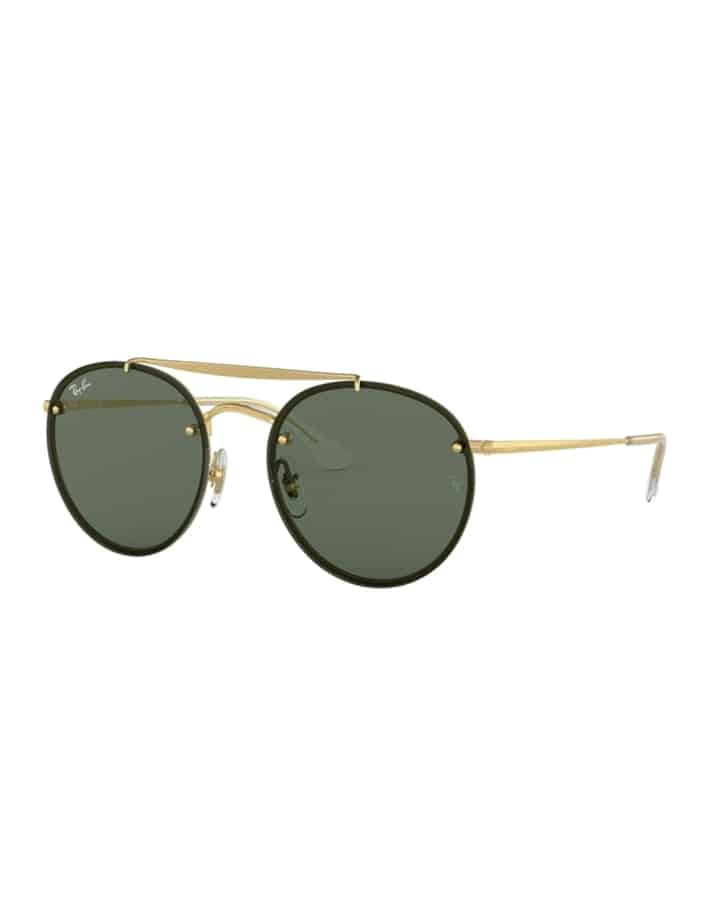 Ray Ban Blaze Round Double Bridge