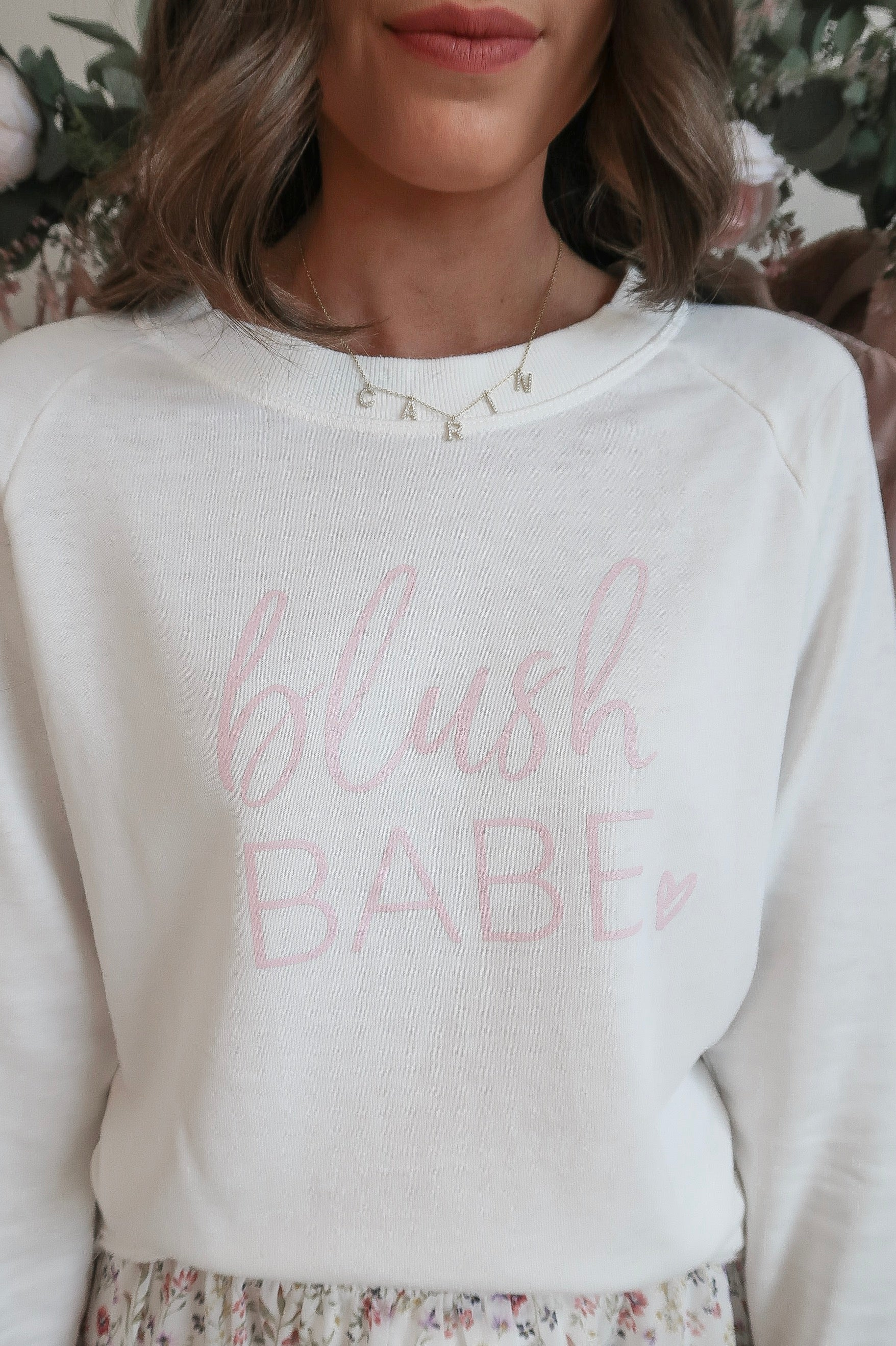 Blush Babe Sweatshirt