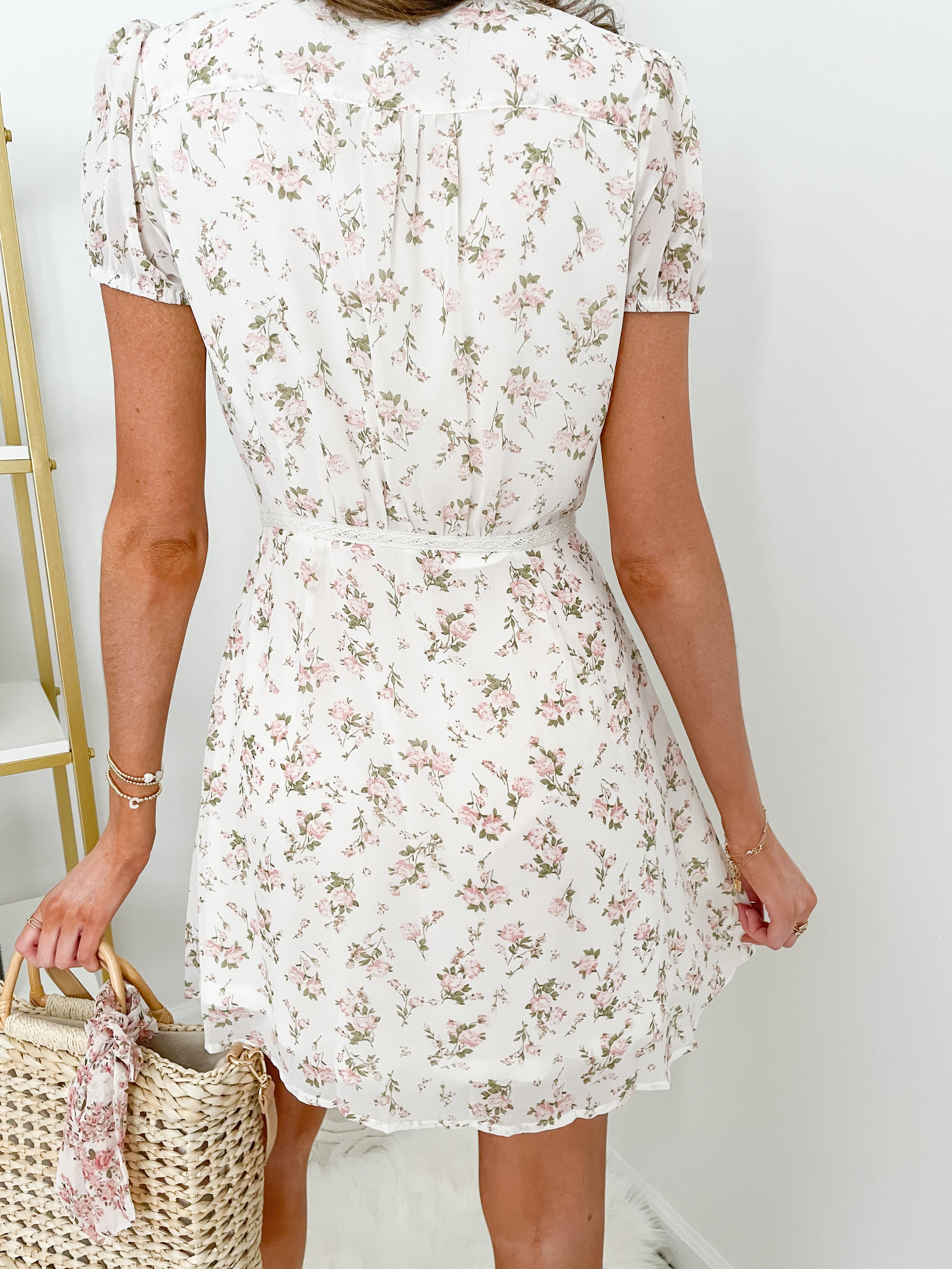 Hello Darling Floral Dress