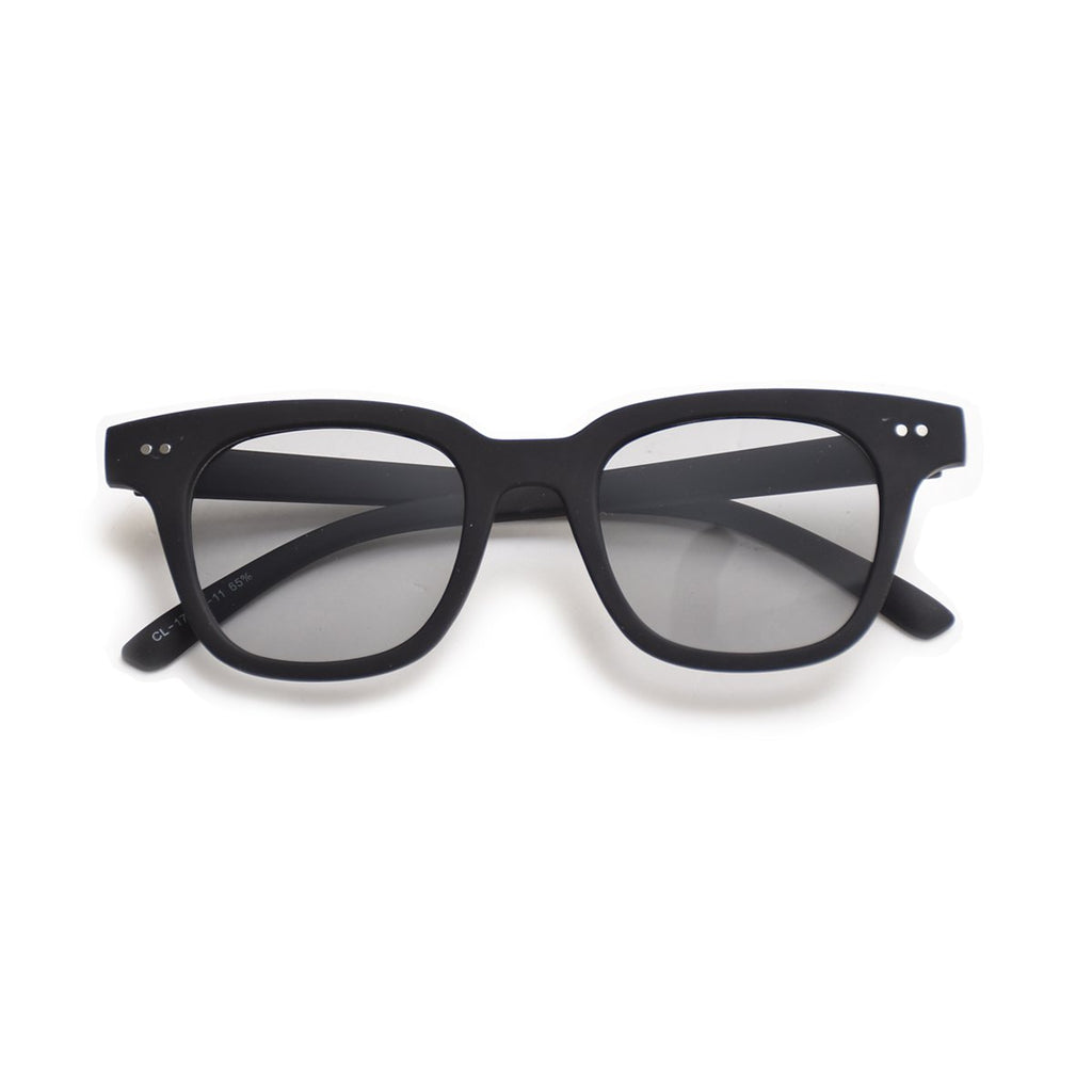 MAT BLACK SUNGLASSES /<br> MAC-A20SP08