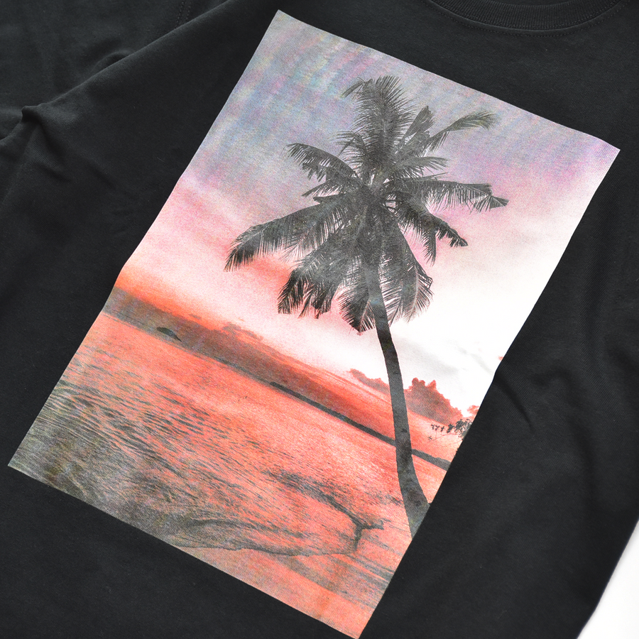 YF SHOOT SUNSET PALMTREE TEE / MCS-S20SP16