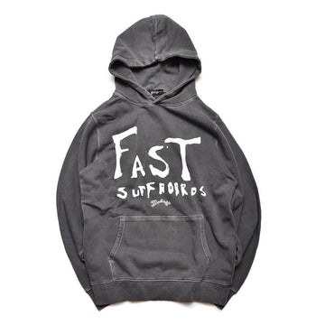 Fast Surfboards × Marbles PIGMENT DYED HOODIE