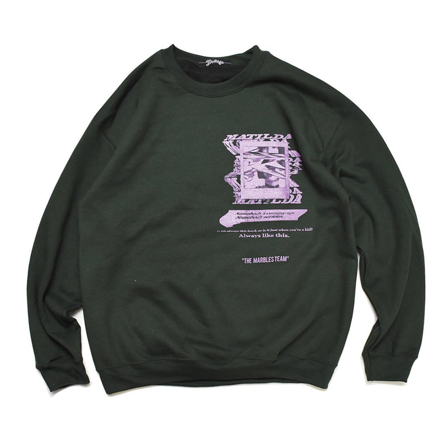 SECRET CREW NECK SWEAT_____MATILDA