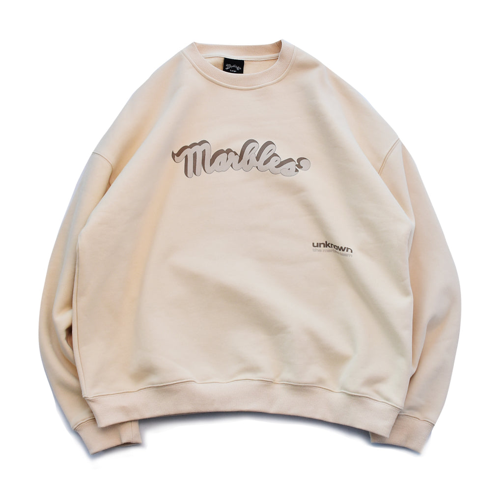 16oz Big Silhouette POP CREW NECK SWEAT / MHP-A20SP13