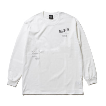 HQ THE TRUTH L/SL  TEE /<br> MCS-A20SP02