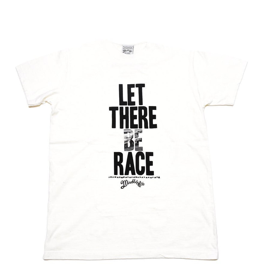 S/SL RUFFI JERSEY TEE #LET THERE BE RACE