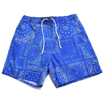 FINEST × Marbles PAISLEY SWIM SHORTS