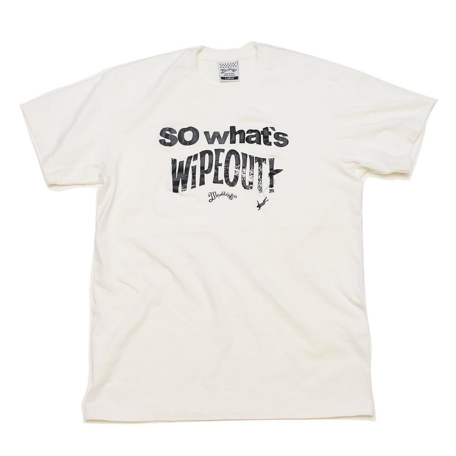 S/SL RUFFY JERSEY TEE #WIPE OUT
