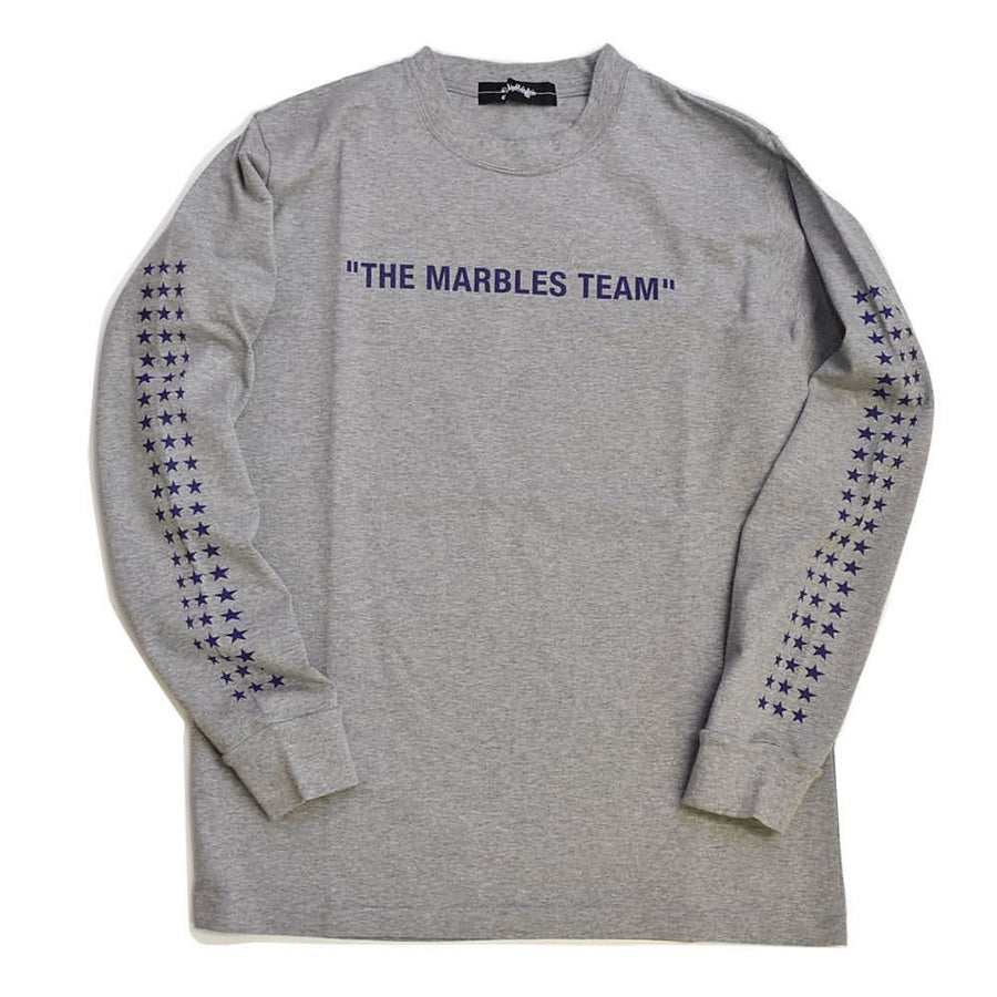 L/SL CHAMPION HEAVYWEIGHT TEE #THE MARBLES TEAM