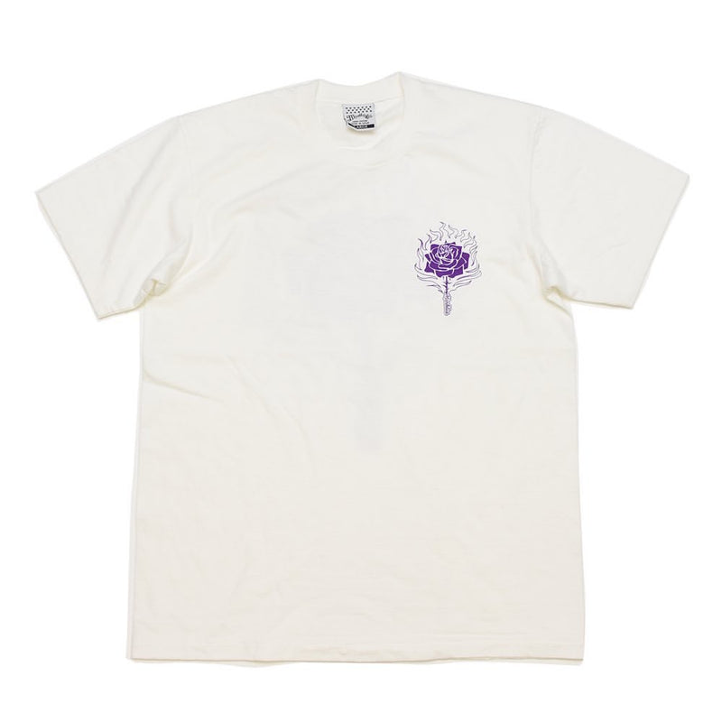 S/SL RUFFY JERSEY TEE #ROSE