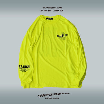 L/SL NEON TEE #THE MARBLES TEAM