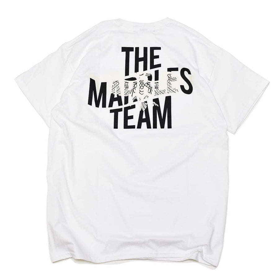Half Sleeve Tee #themarblesteam