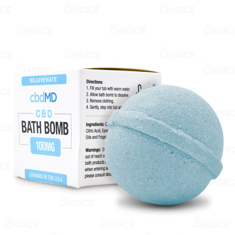 CBD Bath Bomb - Rejuvenate - 100mg