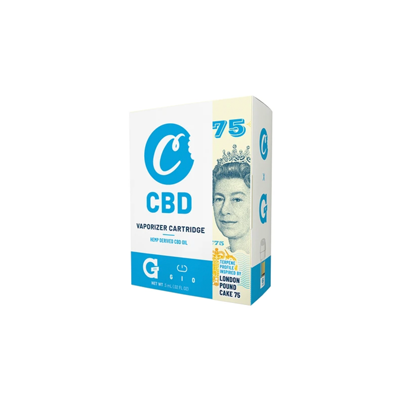G Pen Gio CBD Vape Cartridge - London Pound Cake